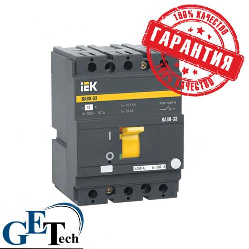 Автоматический выключатель ВА 88-33 3Р 80А IEK