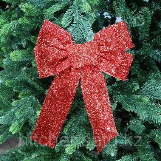 """Новогоднее украшение """"Бант"""" 20*30 см, красный"""