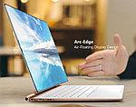Представлен ноутбук Compal ZeroEdge с загнутым экраном, у которого почти нет рамок