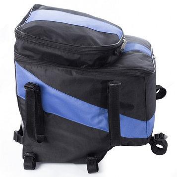 Кофр для снегохода Yamaha NlTRO, 70 литров, черно-синий