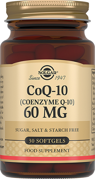 Solgar Коэнзим Q-10 60мг №30капс
