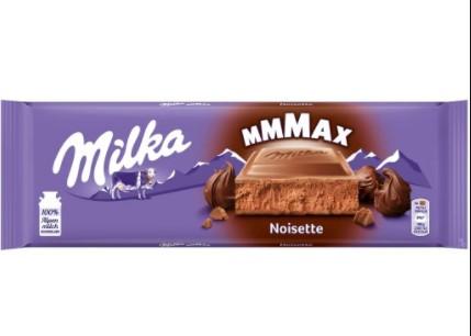 Шоколад молочный Milka Noisette MMMAX (300 грамм) /Швейцария/