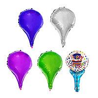 Шар фольгированный «Воздушный шар», набор 4 шт., МИКС