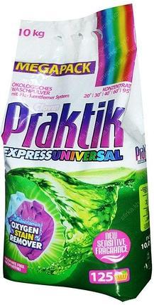 Стиральный порошок Praktik Express Universal 10 кг. (125 стирок), фото 2