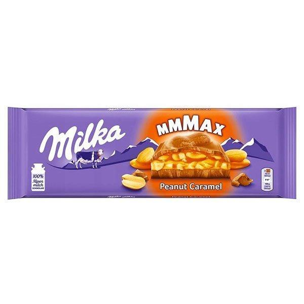 MILKA Peanut Caramel  (276 грамм) (12 шт. в упаковке) MMMAX /Швейцария/