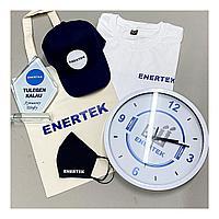 Часы с логотипом, 30 см диаметр