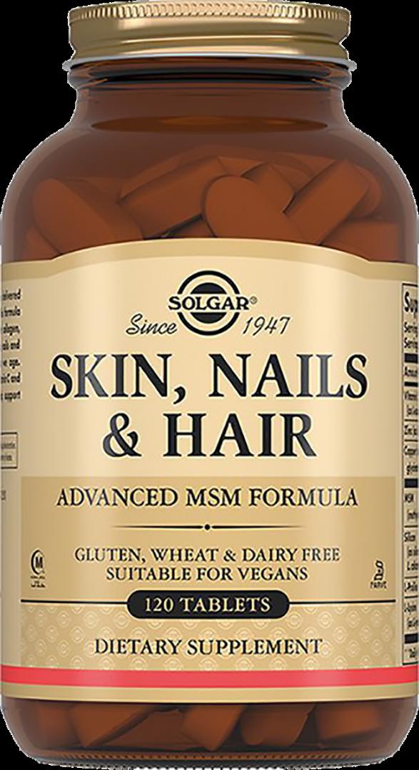 Solgar Таблетки для кожи, волос и ногтей №120 табл.