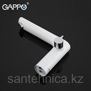 Смеситель для ванны Gappo G1148 белый, фото 2