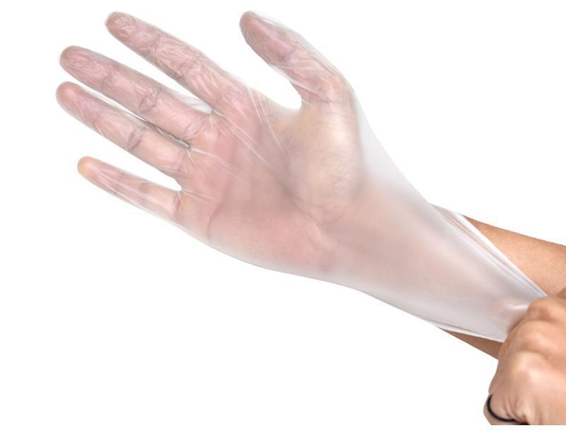 Перчатки виниловые, не опудренные, не стерильные. Марка Si&Moos. Размеры L и M. - фото 1