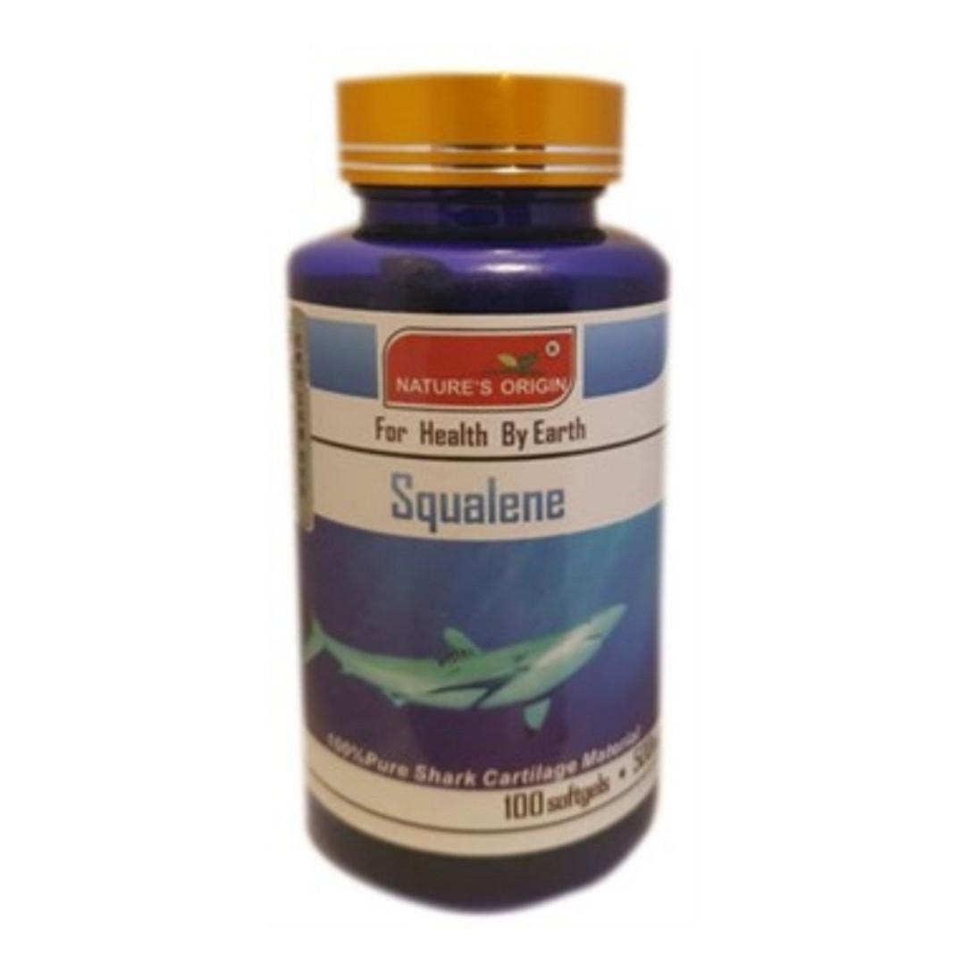 Nature's Origin Сквален Squalene 100 капсул 500мг до 10.04.2021г.