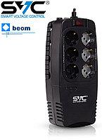 Стабилизатор релейный SVC AVR-1200-U 600Вт - Купить в Алматы, фото 1
