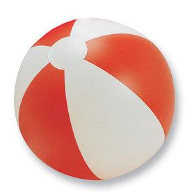 Мяч надувной пляжный, PLAYTIME Красный