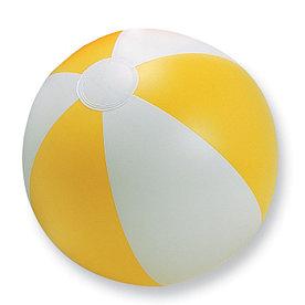 Мяч надувной пляжный, PLAYTIME Желтый