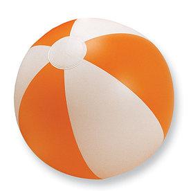 Мяч надувной пляжный, PLAYTIME Оранжевый