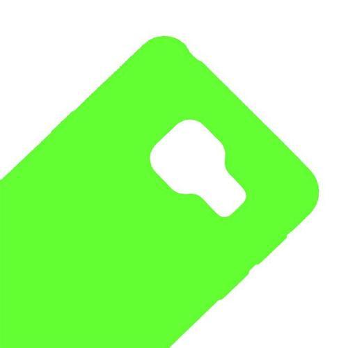 Чехол на телефон Зеленый Silicone Case Samsung A510/A5 2016