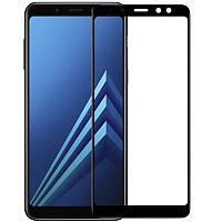 Стекло на телефон 18D Samsung A730/A8+ 2018