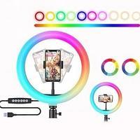 Кольцевая Лампа 49 см. Разноцветная