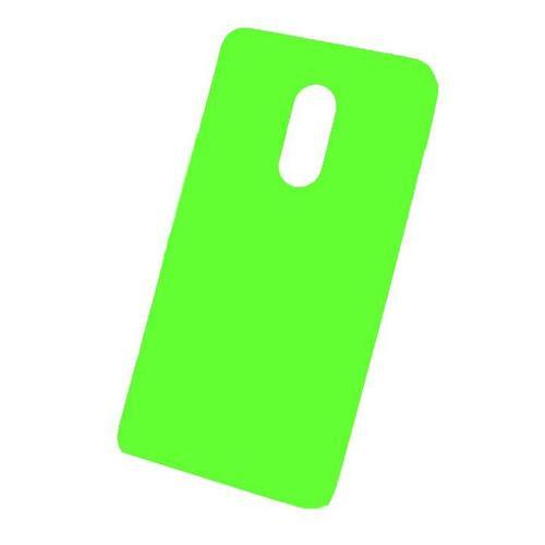Чехол на телефон Зеленый Silicone Case Xiaomi Redmi Note 4