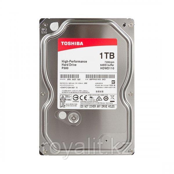 Жёсткий диск Toshiba P300 HDD 1 Tb
