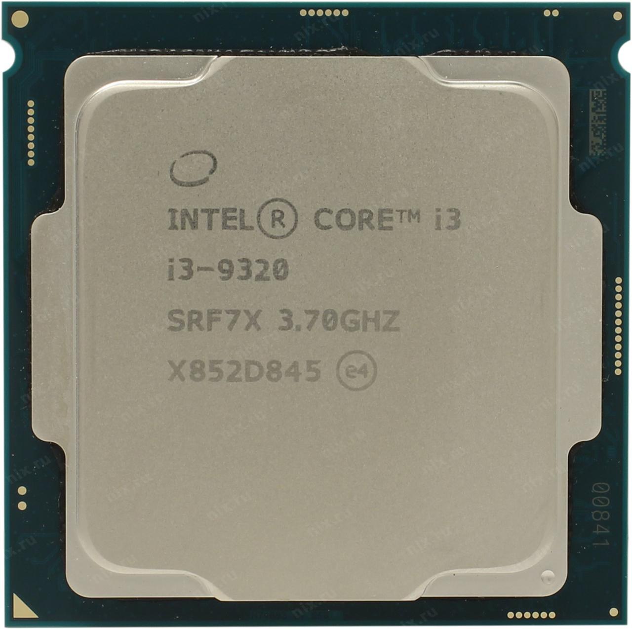 Процессор Intel 1151 i3-9320 3,7GHz, 8Mb