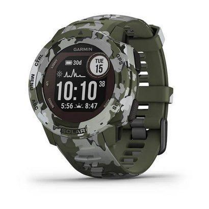 Часы Instinct Solar, Camo Edition, GPS Watch, Lichen Camo, WW