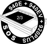 Набор ключей комбинированных удлинённых в SOS-ложементе - 964/2CSOS UNIOR, фото 2