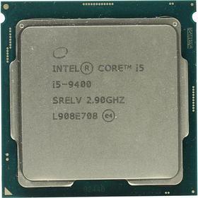 Процессор Intel 1151 i5-9400 BOX, 2,9 GHz, 9 Mb