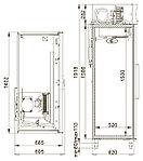 Холодильный шкаф комбинированный Polair CC214-S, фото 2
