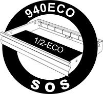 Набор ключей комбинированных удлинённых в SOS-ложементе - 964ECO2A UNIOR, фото 2
