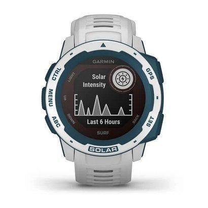 Часы Instinct Solar, Surf Edition, GPS Watch, Cloudbreak, WW