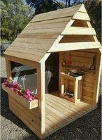 Детский домик деревянный GH-001