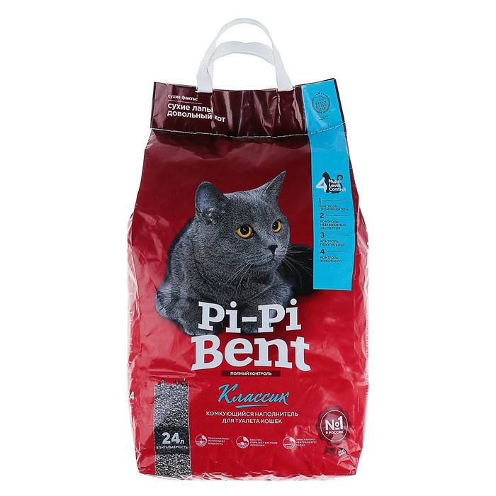 Pi-Pi-Bent Наполнитель комкующийся Классик, 24 л
