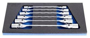 Набор ключей торцевых с шарнирными головками в ложементе - 964/17SOS UNIOR