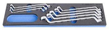 Набор ключей накидных в SOS-ложементе - 964ECO3 UNIOR