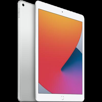 "Apple iPad 10,2"" Wi-Fi + Cellular 128 ГБ, серебристый"