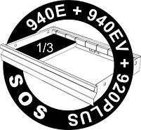 Набор ключей торцевых двойных изогнутых в SOS-ложементе - 964/18ASOS UNIOR, фото 2
