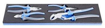 Набор шарнирно-губцевого инструмента в SOS-ложементе - 964ECO6 UNIOR