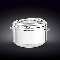 "GLASS LID ROUND CHAFER 18"" X 16.25"" X 10"" 