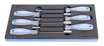 Набор отвёрток с внутренним шестигранником, рукоятки TBI, в SOS-ложементе - 964/9BSOS UNIOR