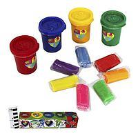 Пальчиковая раскраска Danko Toys 4 цвета, тесто 7 цветов