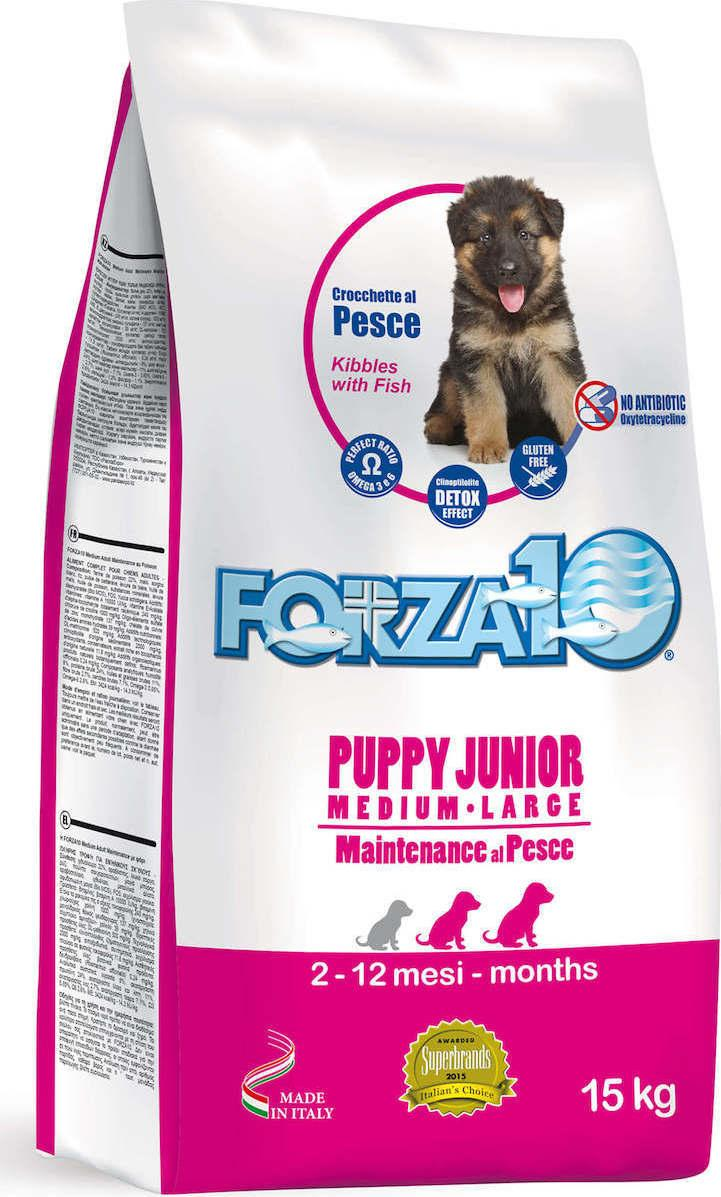 Forza10 Сухой корм для щенков средних и крупных пород, рыба