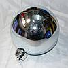 """Новогодняя украшение на ёлку """"Шар"""" 20 см (цвет: серебро)"""