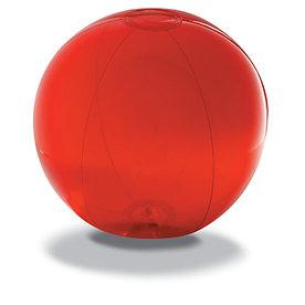 Пляжный мяч из прозрачного ПВХ, AQUA Красный
