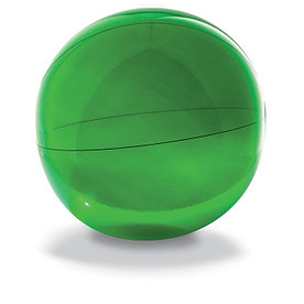 Пляжный мяч из прозрачного ПВХ, AQUA Зеленый