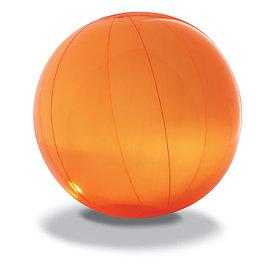 Пляжный мяч из прозрачного ПВХ, AQUA Оранжевый
