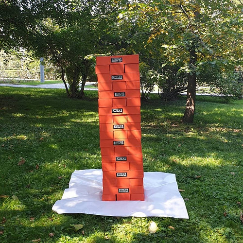 Аренда настольной игры Гигантской башни Jenga