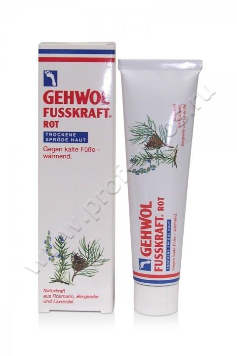 Красный бальзам для сухой кожи FUSSKRAFT ROT TROCKENE SPRODE HAUT