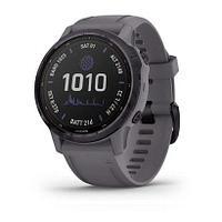 Спортивные часы Fenix 6S Pro Solar, Amethyst w/Shale Band,GPS Watch,EMEA