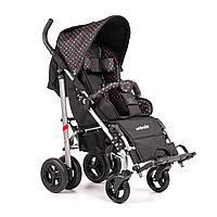 Детская инвалидная кресло-коляска ДЦП UMBRELLA, размер 2, комнатная Цветной горох-чёрный