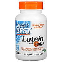 Doctor's Best, Лютеин с OptiLut, 10 мг, 120 растительных капсул